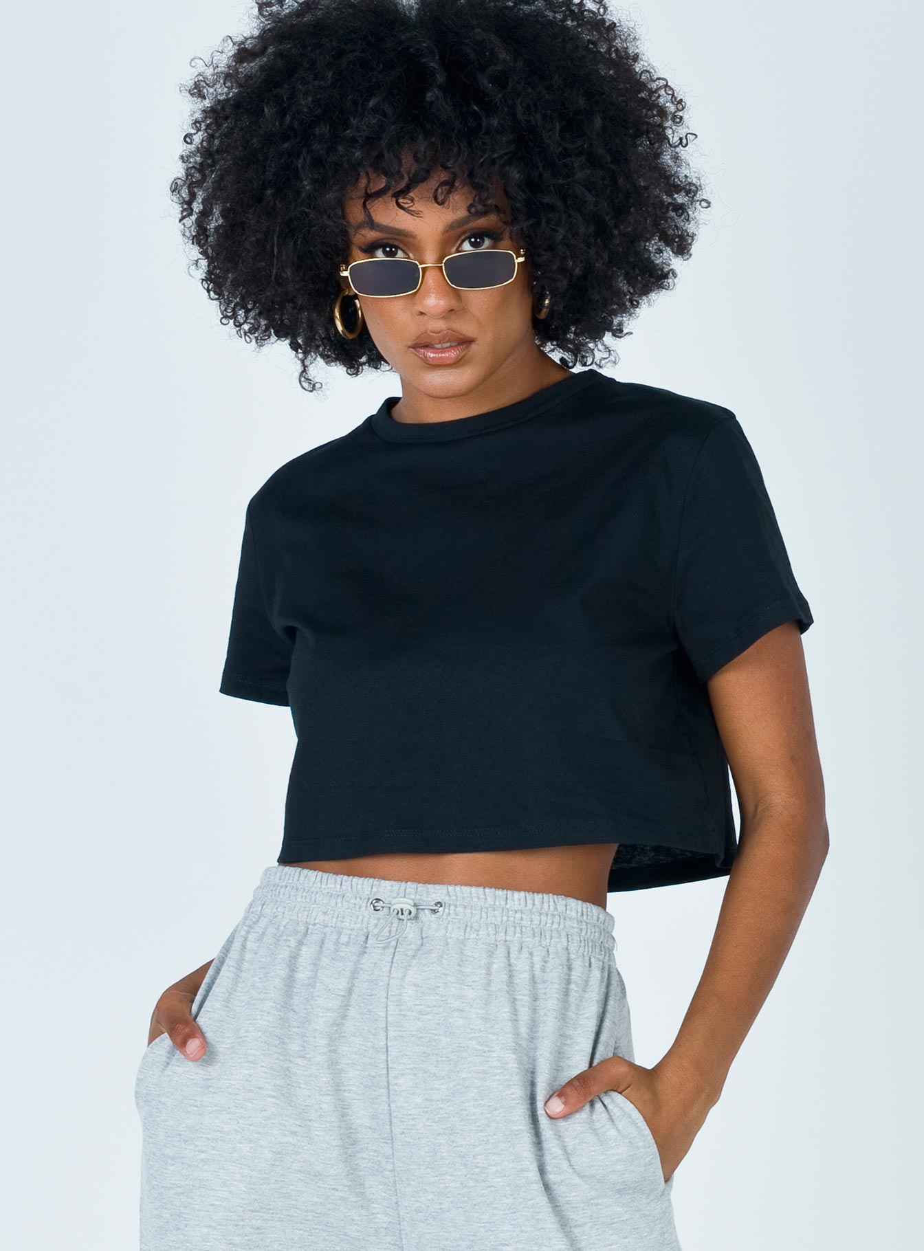 The Polly Tee Black