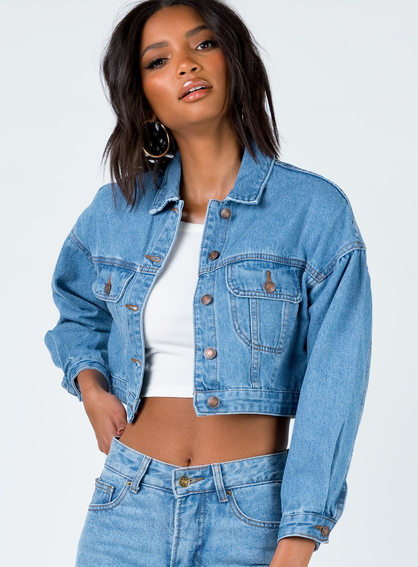 Zak Denim Jacket