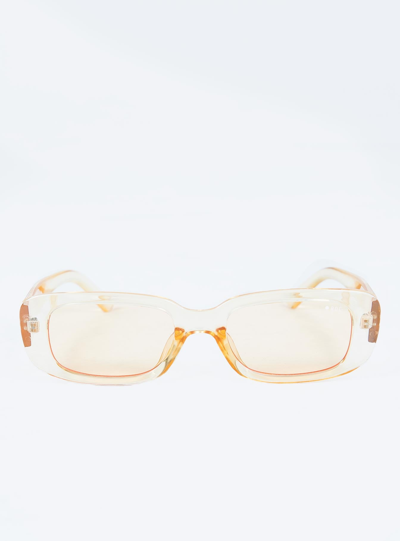 Creeper Sunglasses Clear Yellow