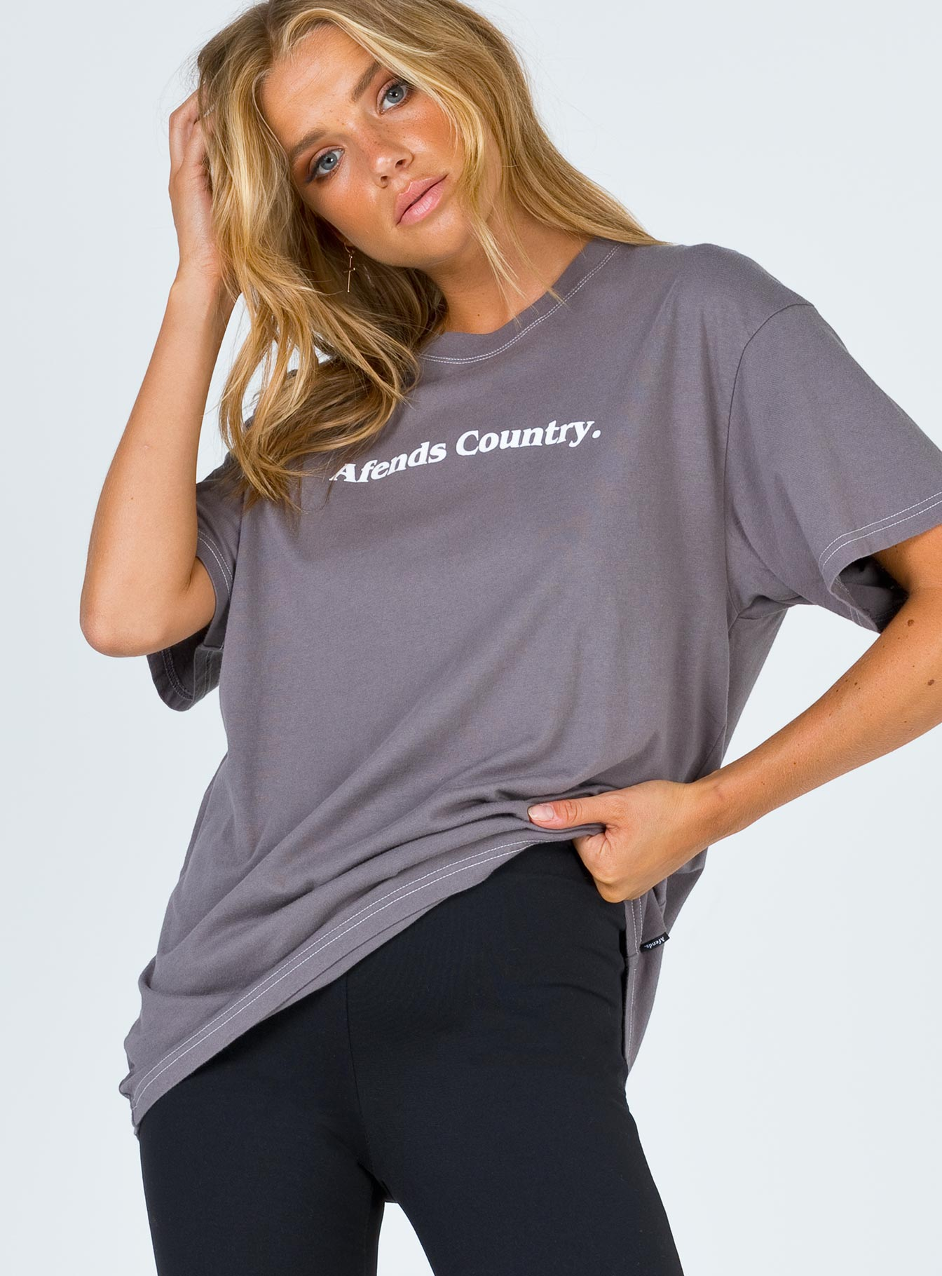 Afends Country Oversized Tee