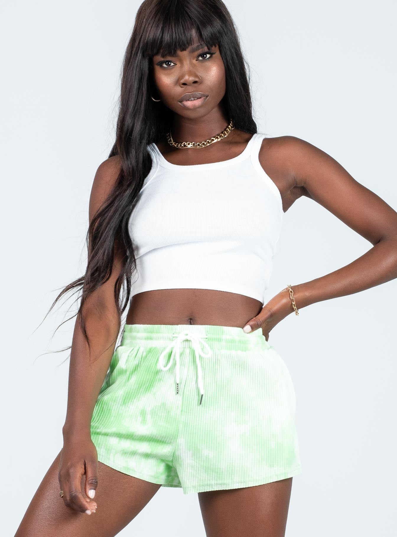 Tommy Tye Dye Shorts Green
