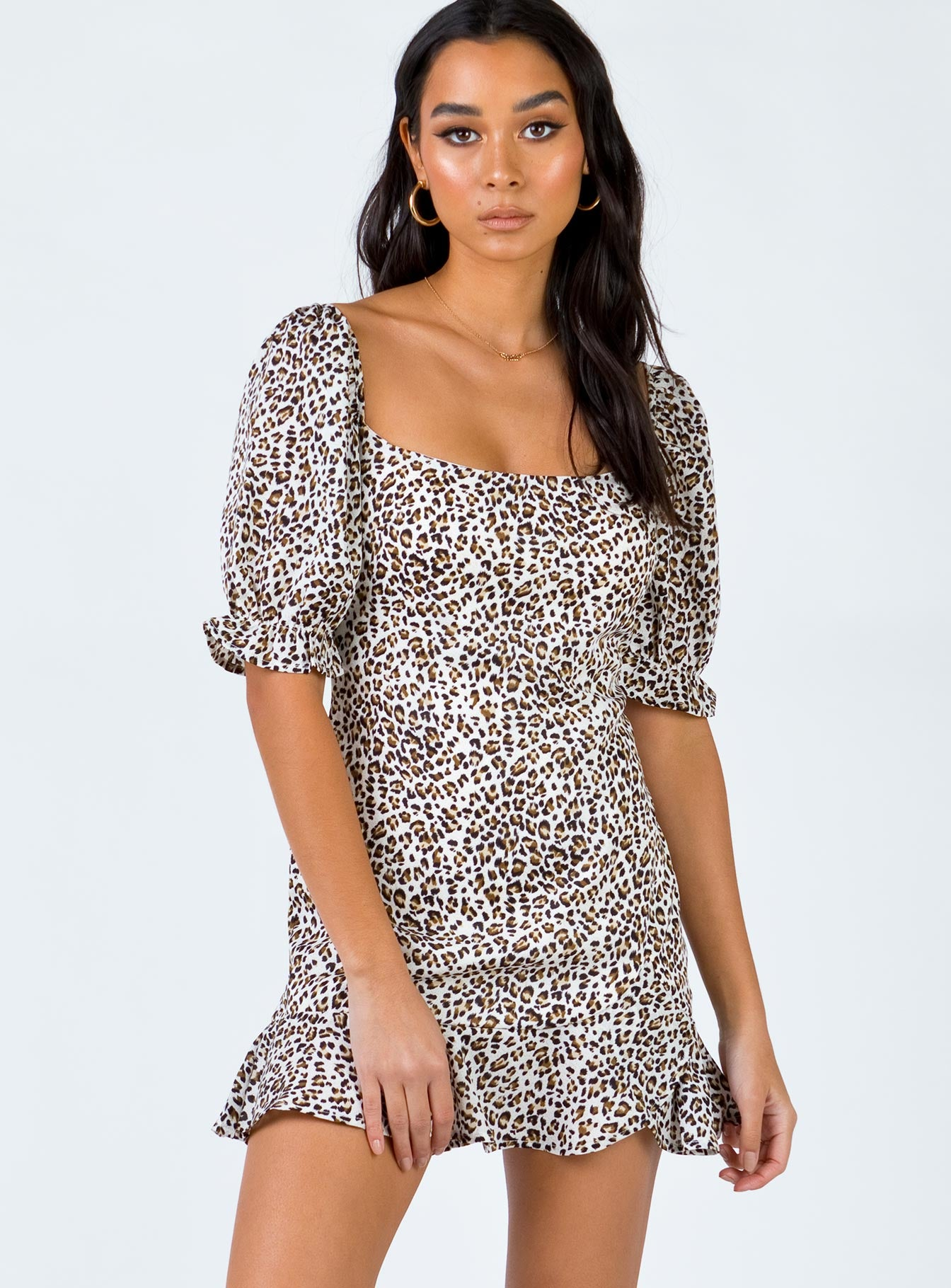 Leuparz Mini Dress Leopard