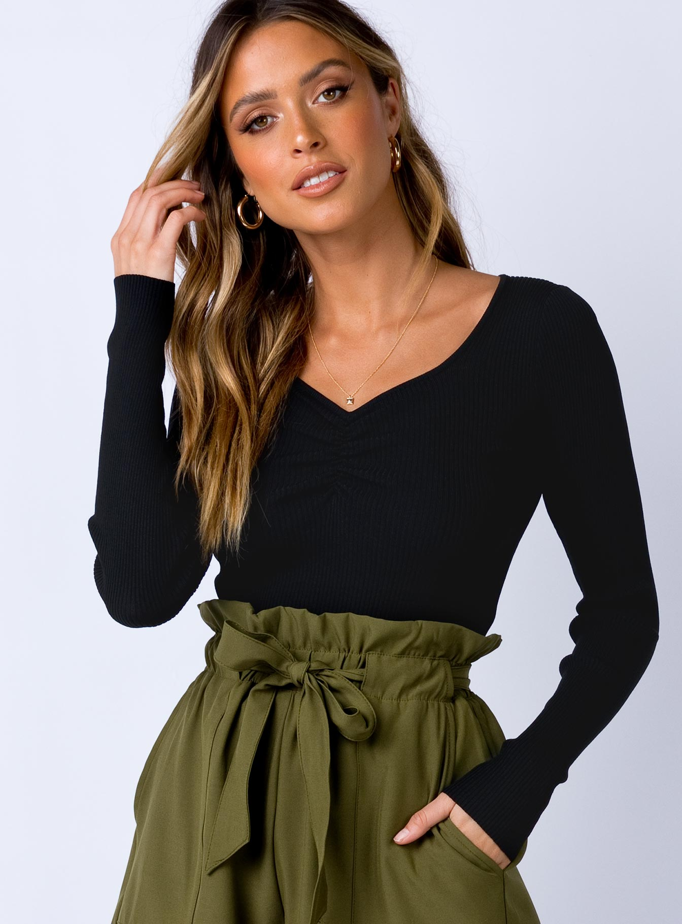 Mockridge Top Black