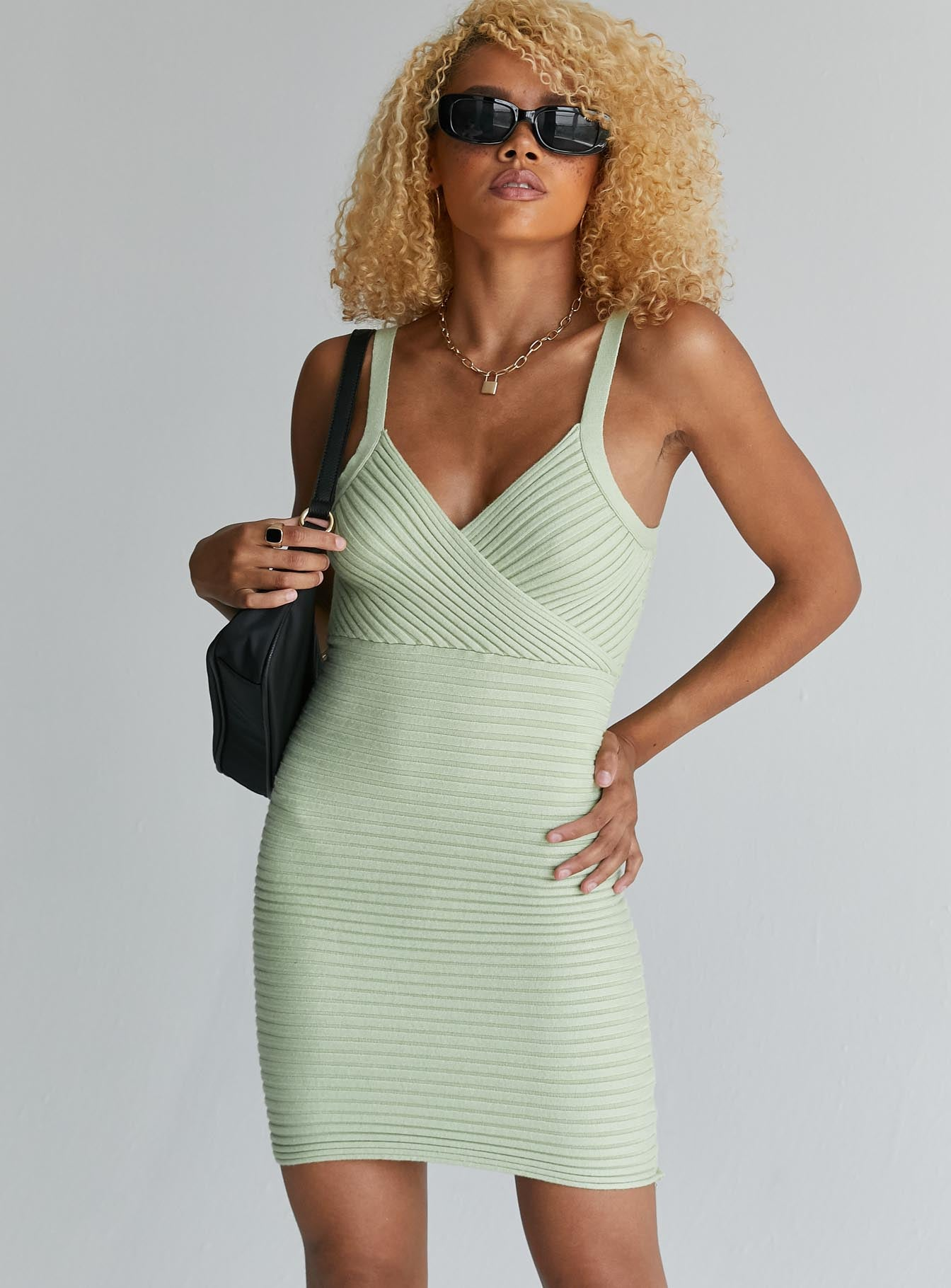 Emelie Mini Dress Green