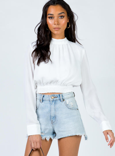 Hensley Top White