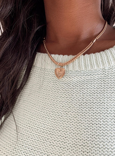 The Alice Heart Necklace