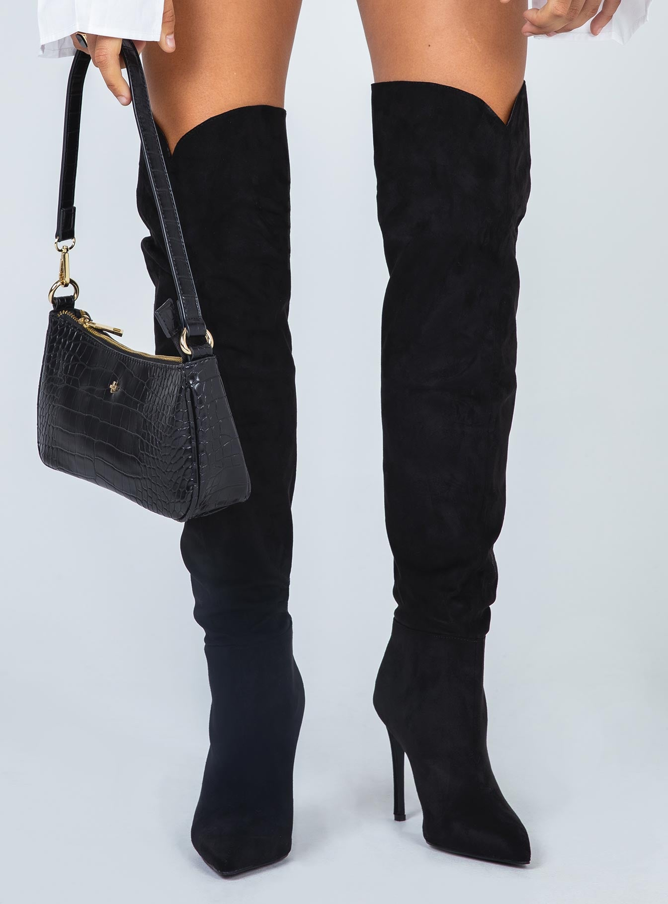 Billini Dion Boot Black Suede