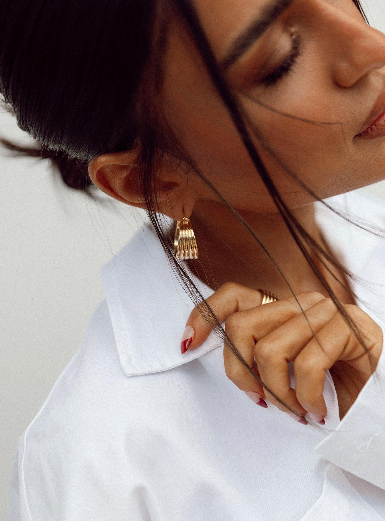 Feeling Free Gold Plated Earrings