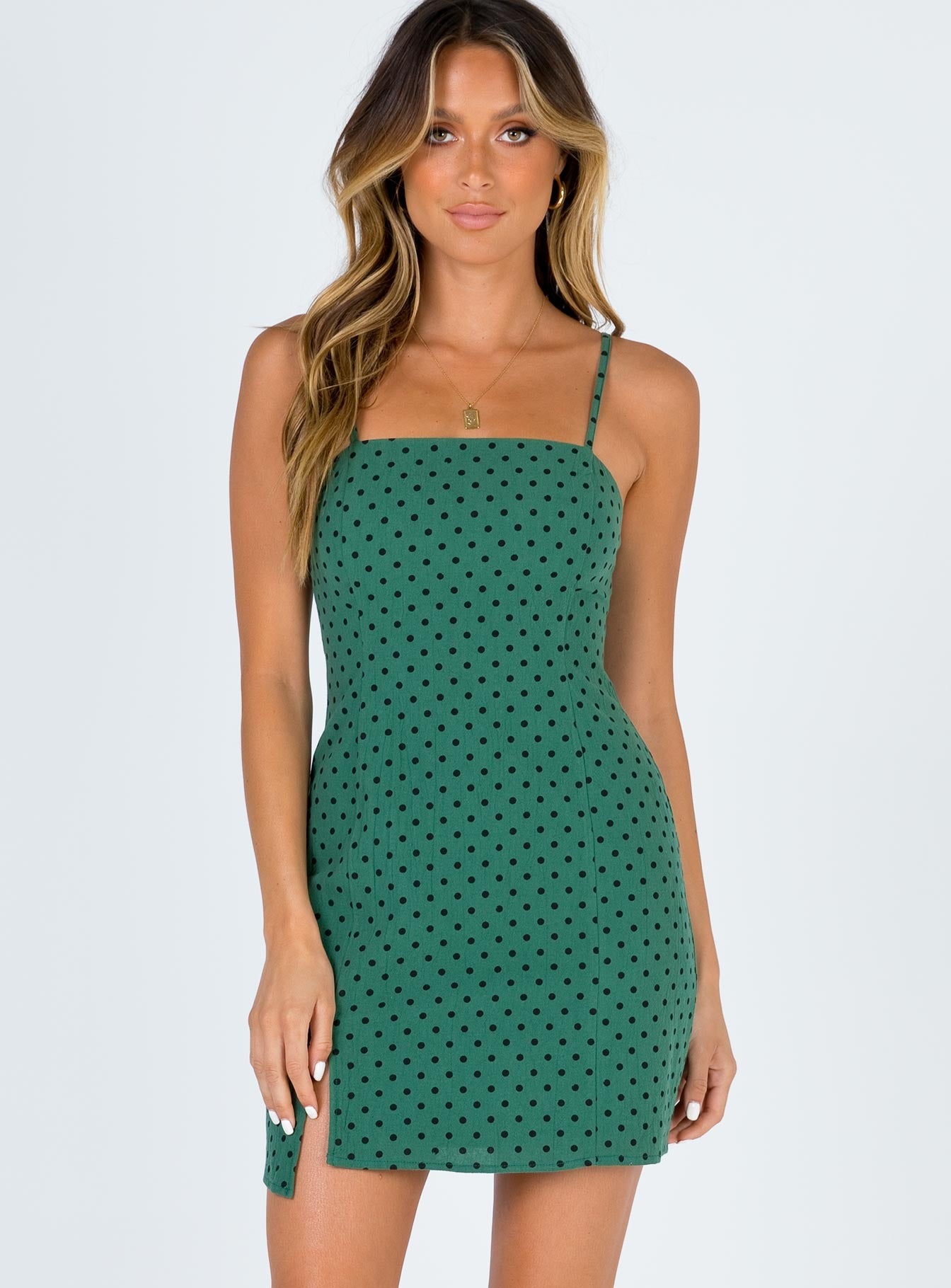 Minkpink Rockstar Polka Dot Dress