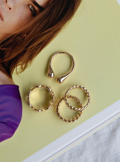Caprae Ring Set