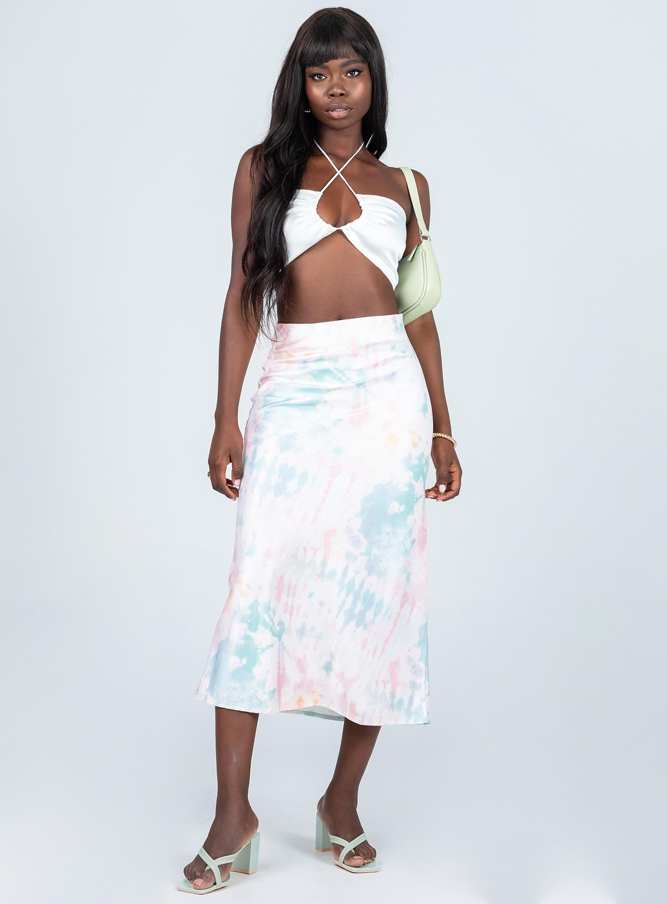 Maura Midi Skirt Multi