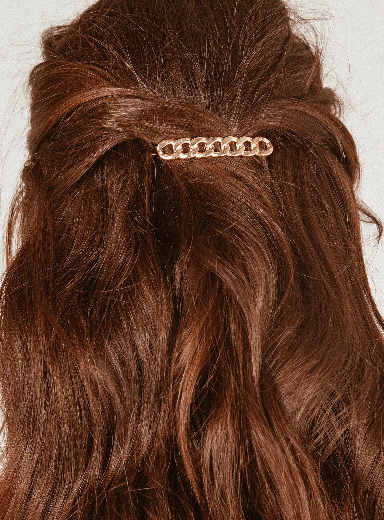 The Chainlink Hair Clip