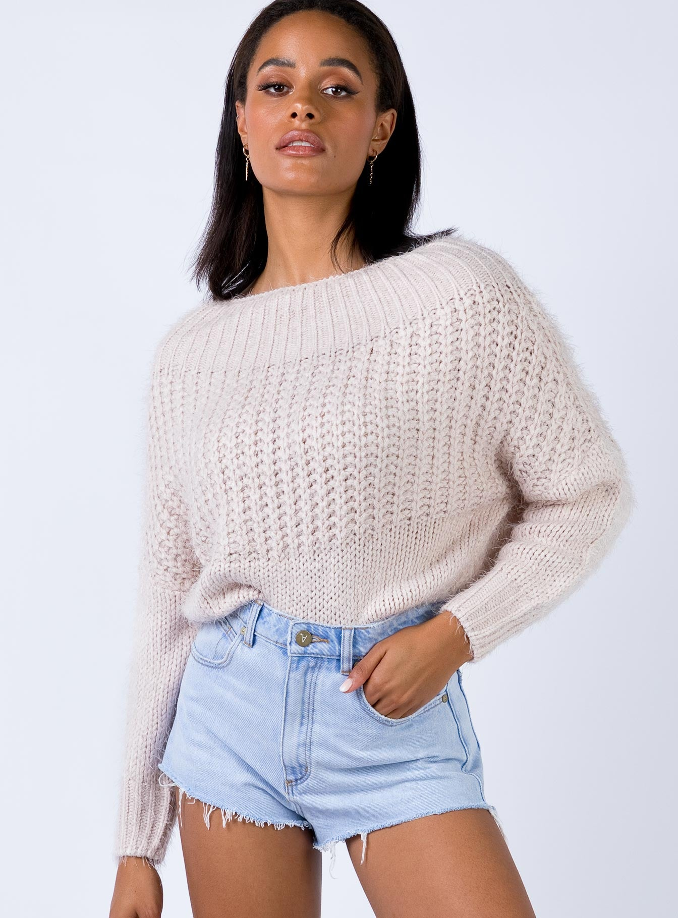 Kyler Sweater Nude