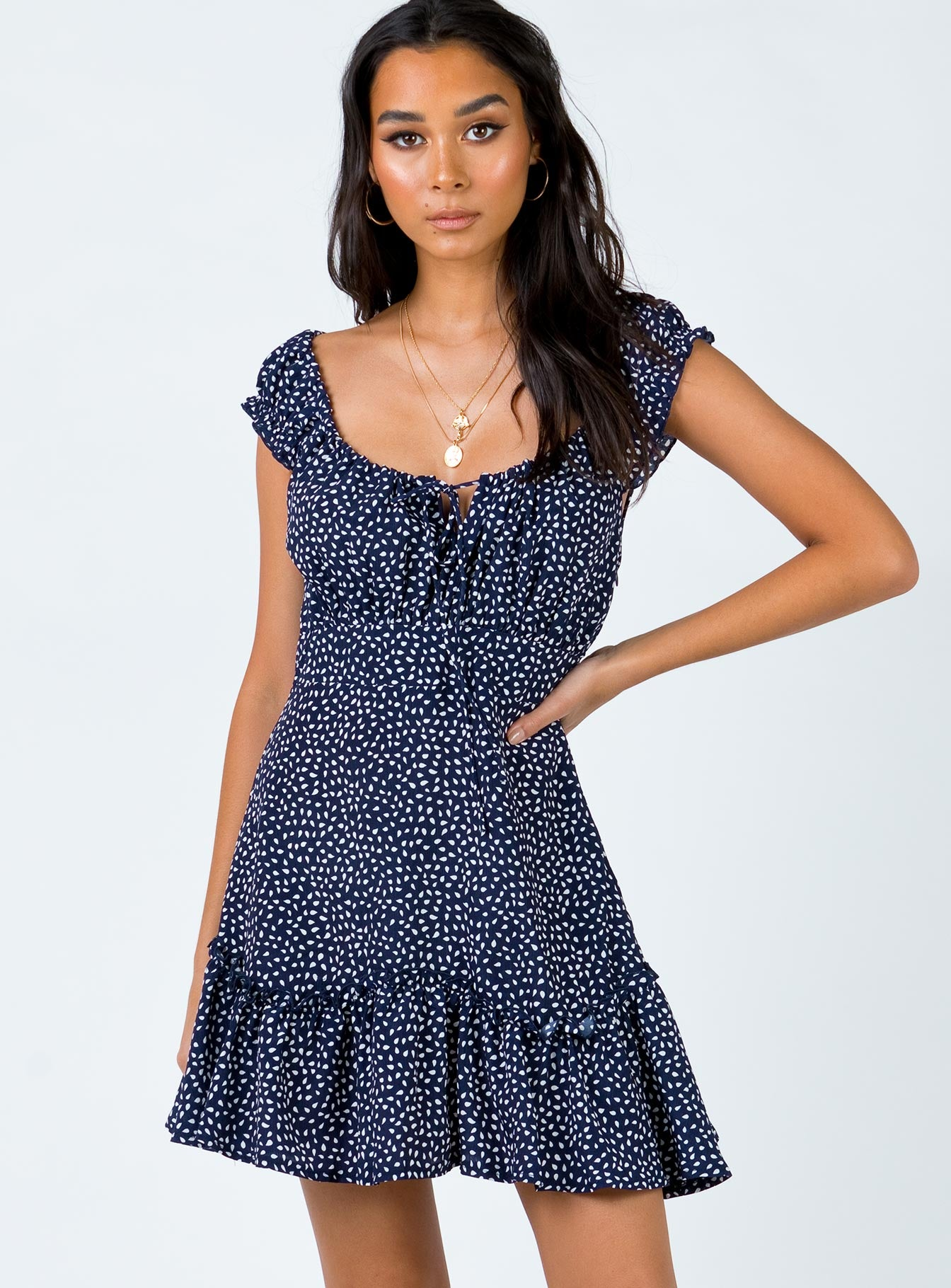The Coopers Mini Dress Navy