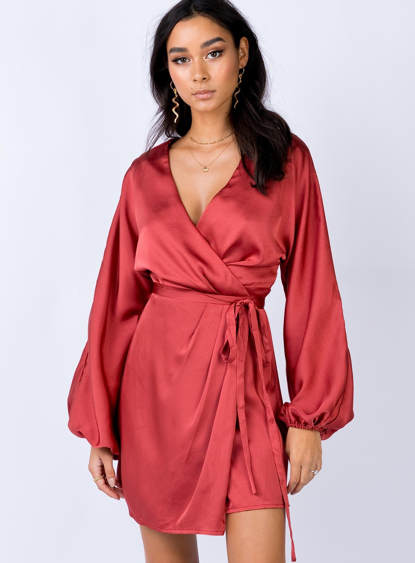 Cori Mini Dress Red