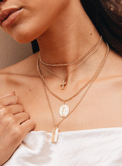 Saint Layered Necklace