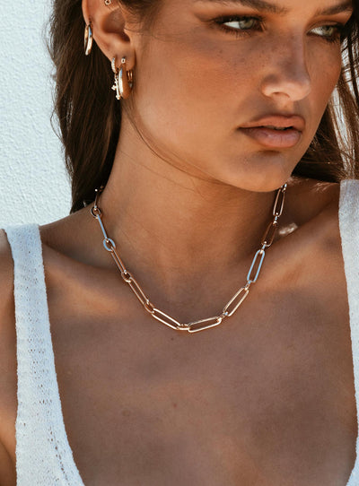 Darla Chain Necklace Gold