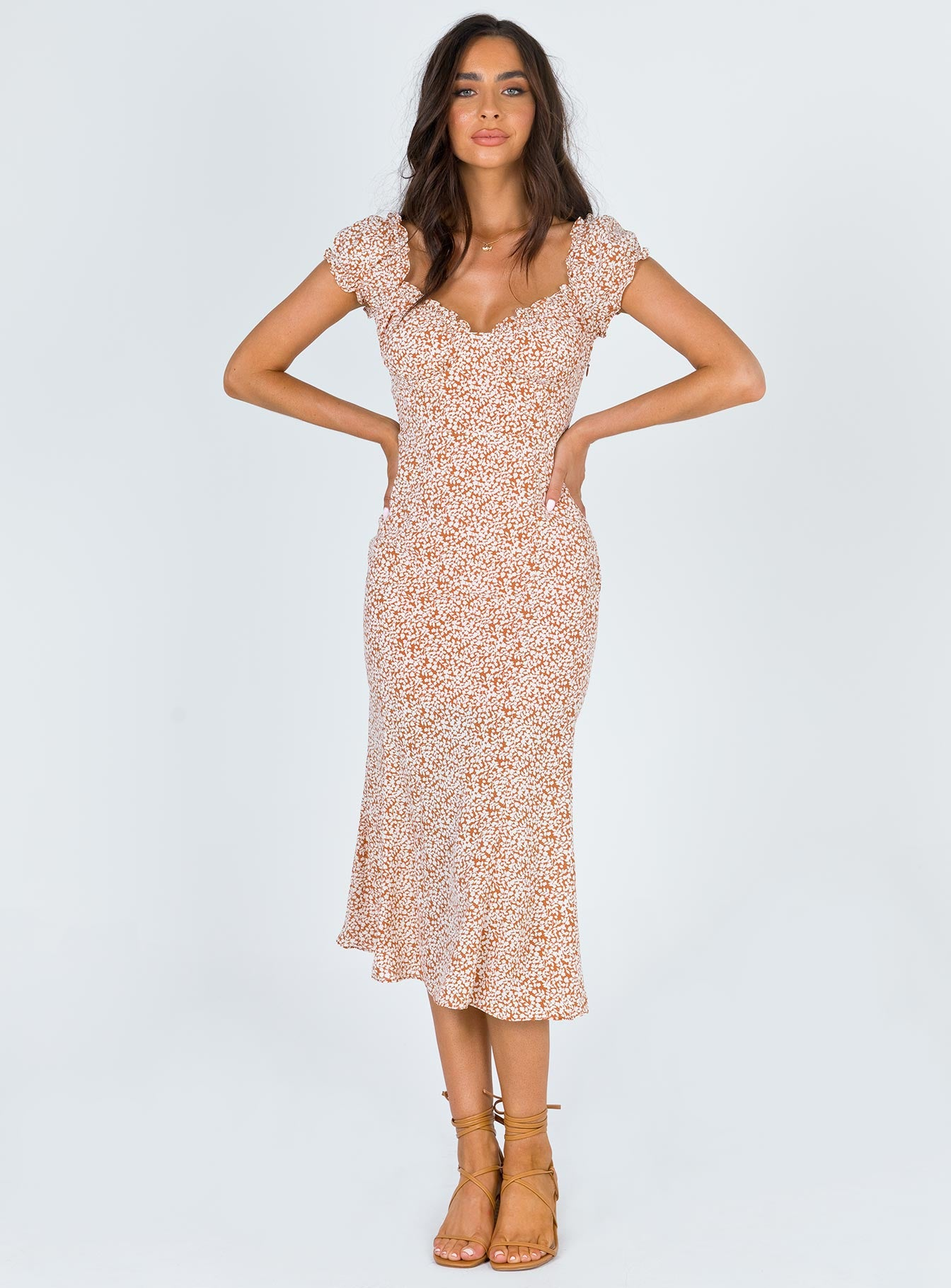 Just Like Heaven Midi Dress
