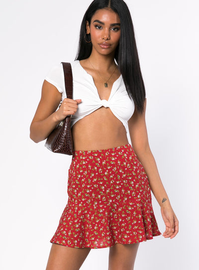 Motel Gaelle Mini Skirt