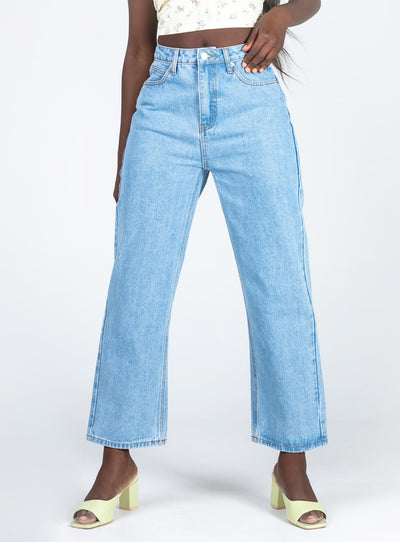 Xavier High Rise Denim Jeans