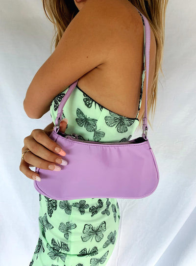 Brittney Satin Bag Lilac