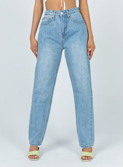 Cool Gal Mid Rise Denim Jeans