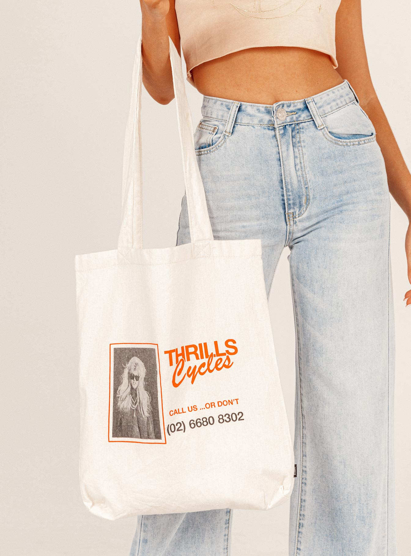 Thrills Call Us Tote