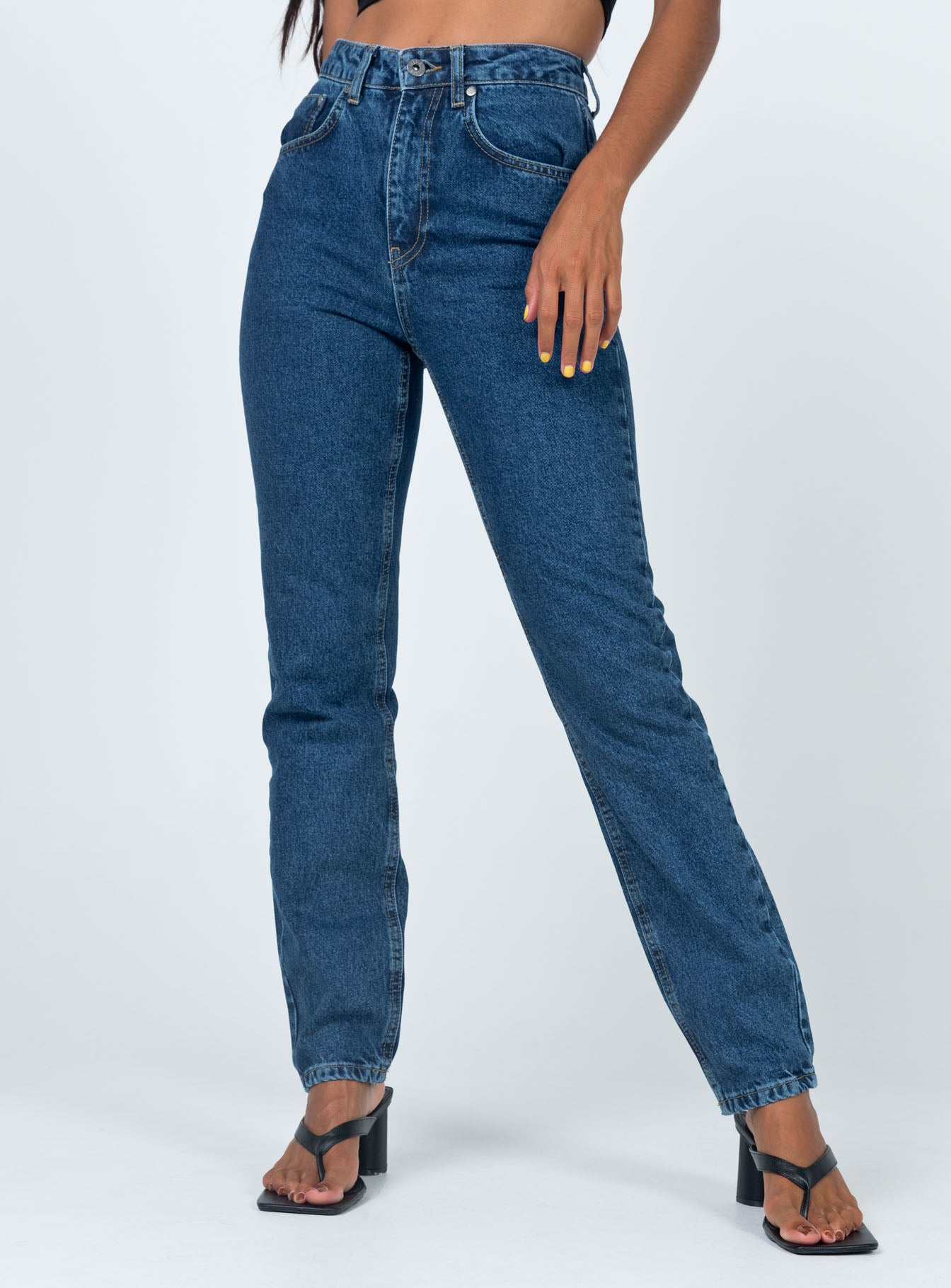 Ragged Priest Cougar Jean Indigo Denim