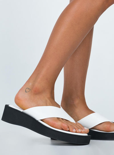 Miami Sandal White