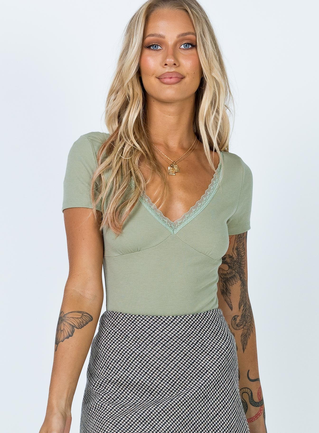 Drey Bodysuit Green