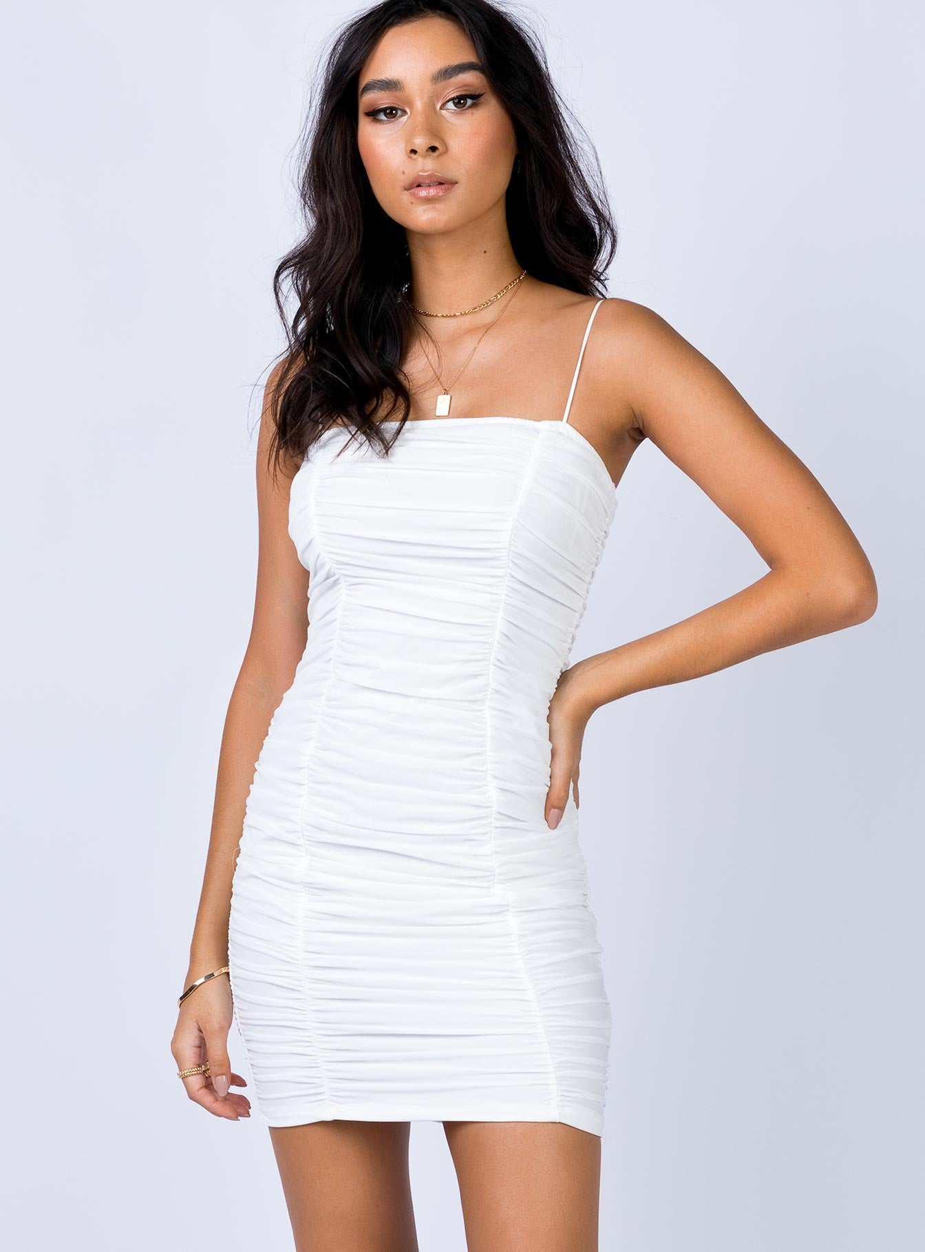 Ardee Mini Dress White