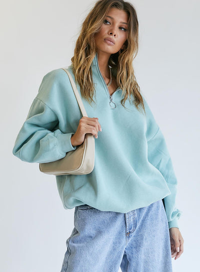 Aster Sweater Green