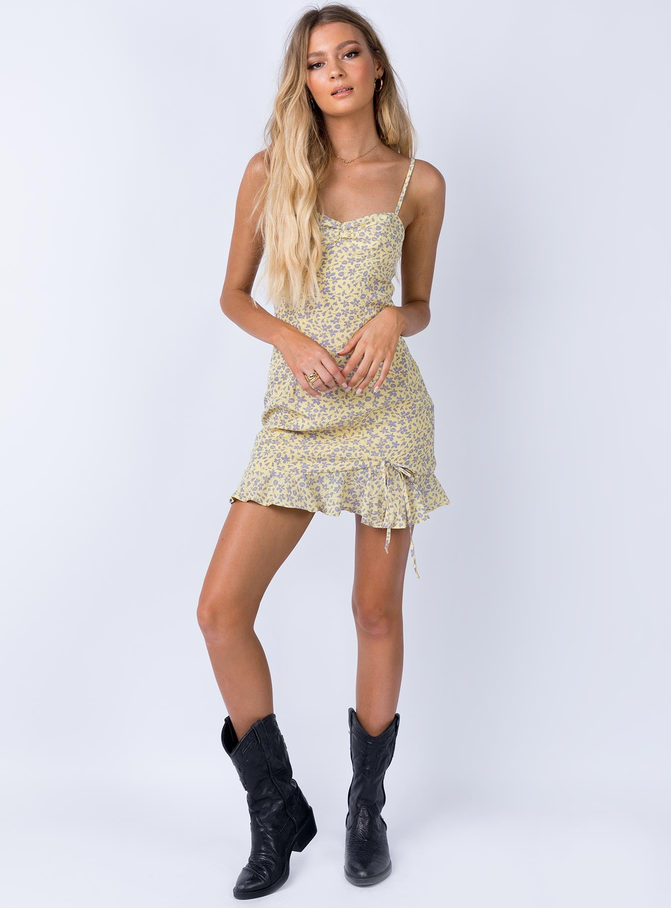Tarkine Mini Dress Yellow