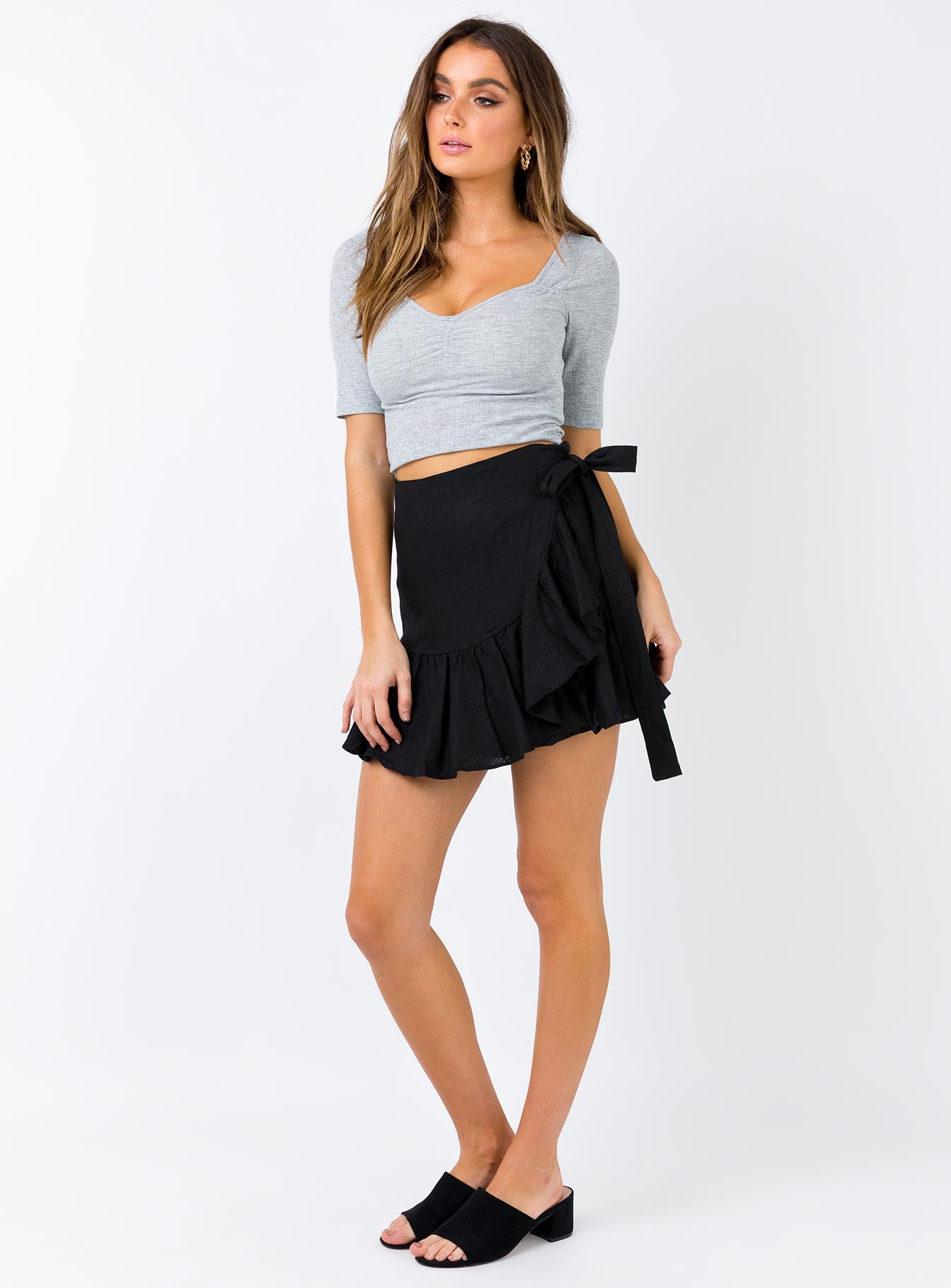 Salem Mini Skirt Black