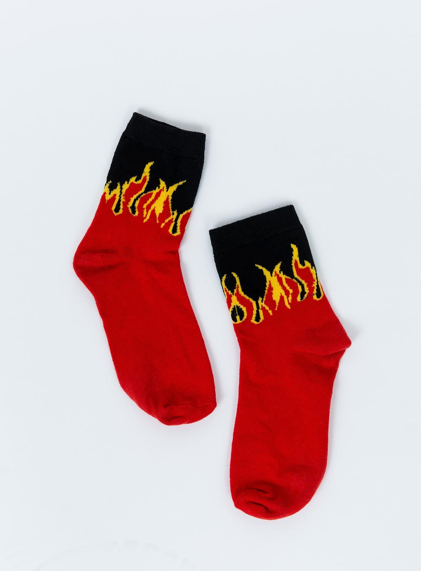 Flame Crew Socks Red