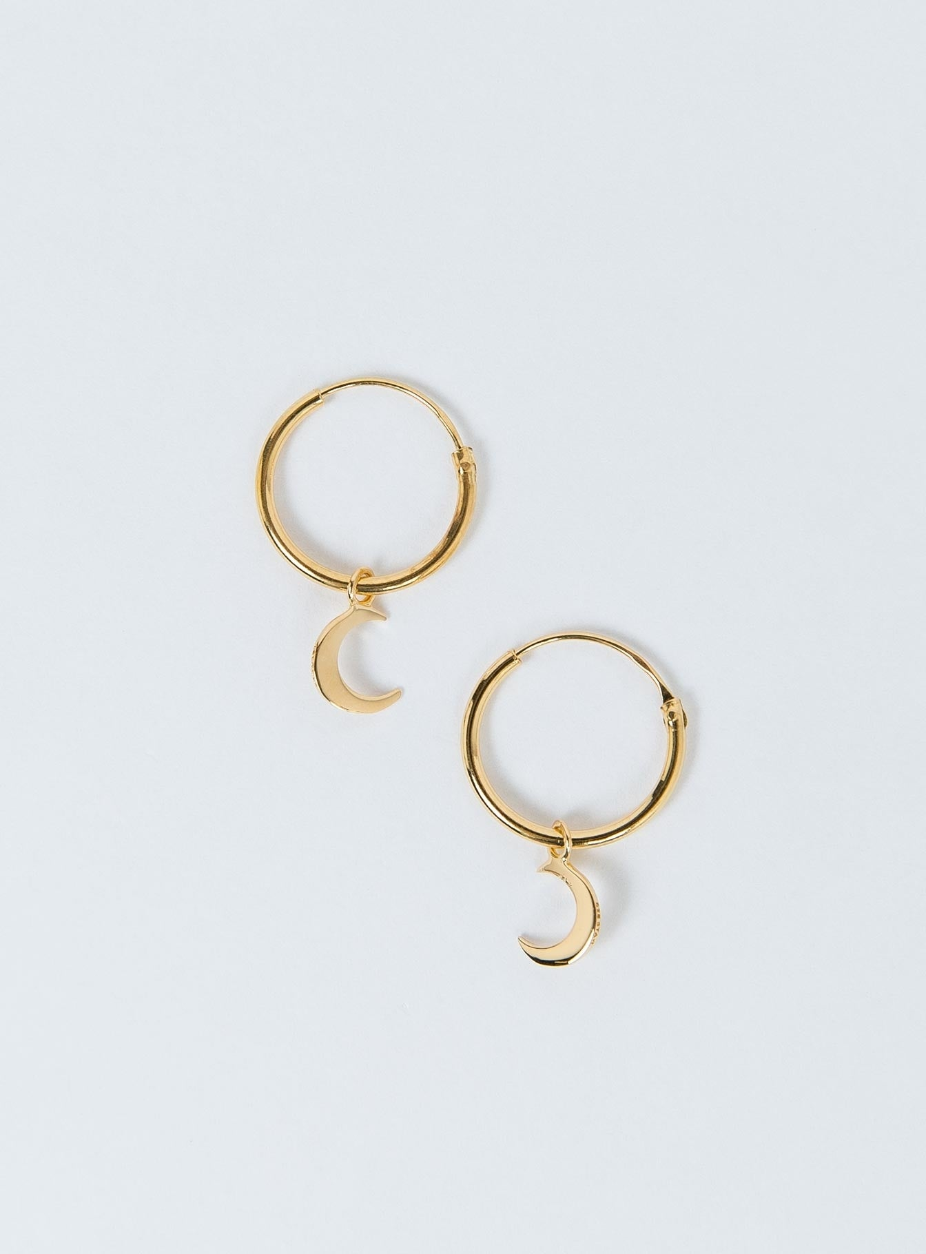 Midsummer Star Moon Dream Sleepers 18K Gold Vermeil