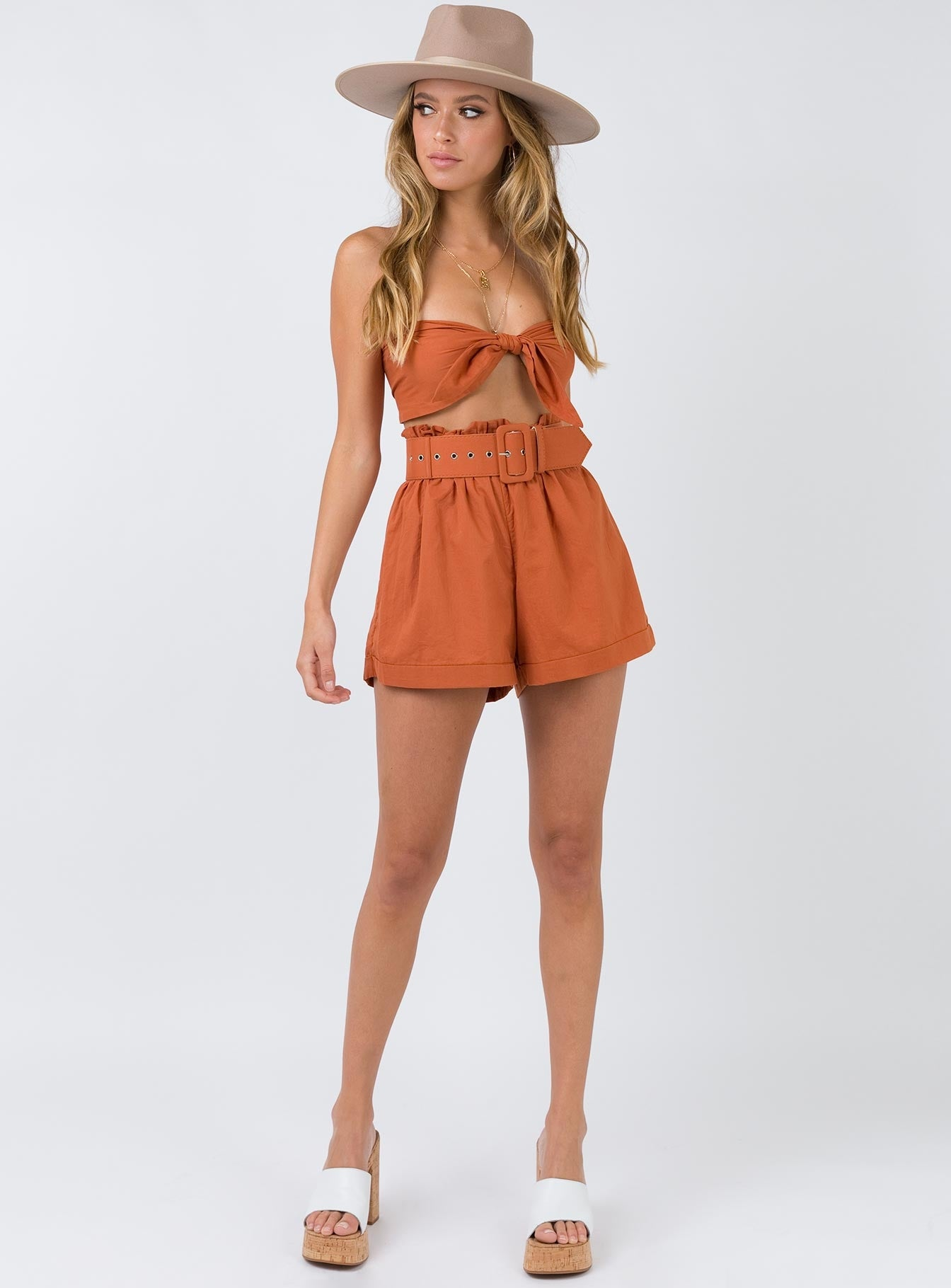 The Maxine Set Burnt Orange