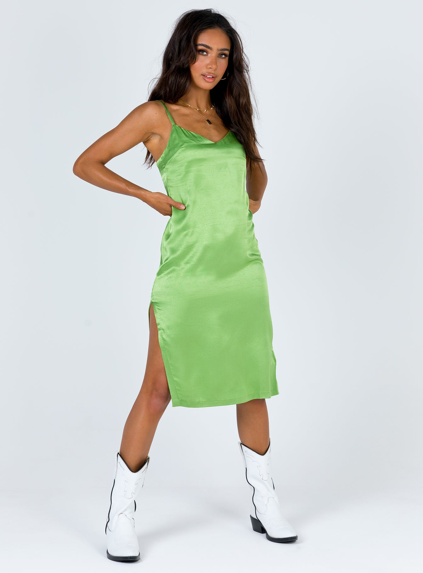 TWIIN Alert Slip Dress