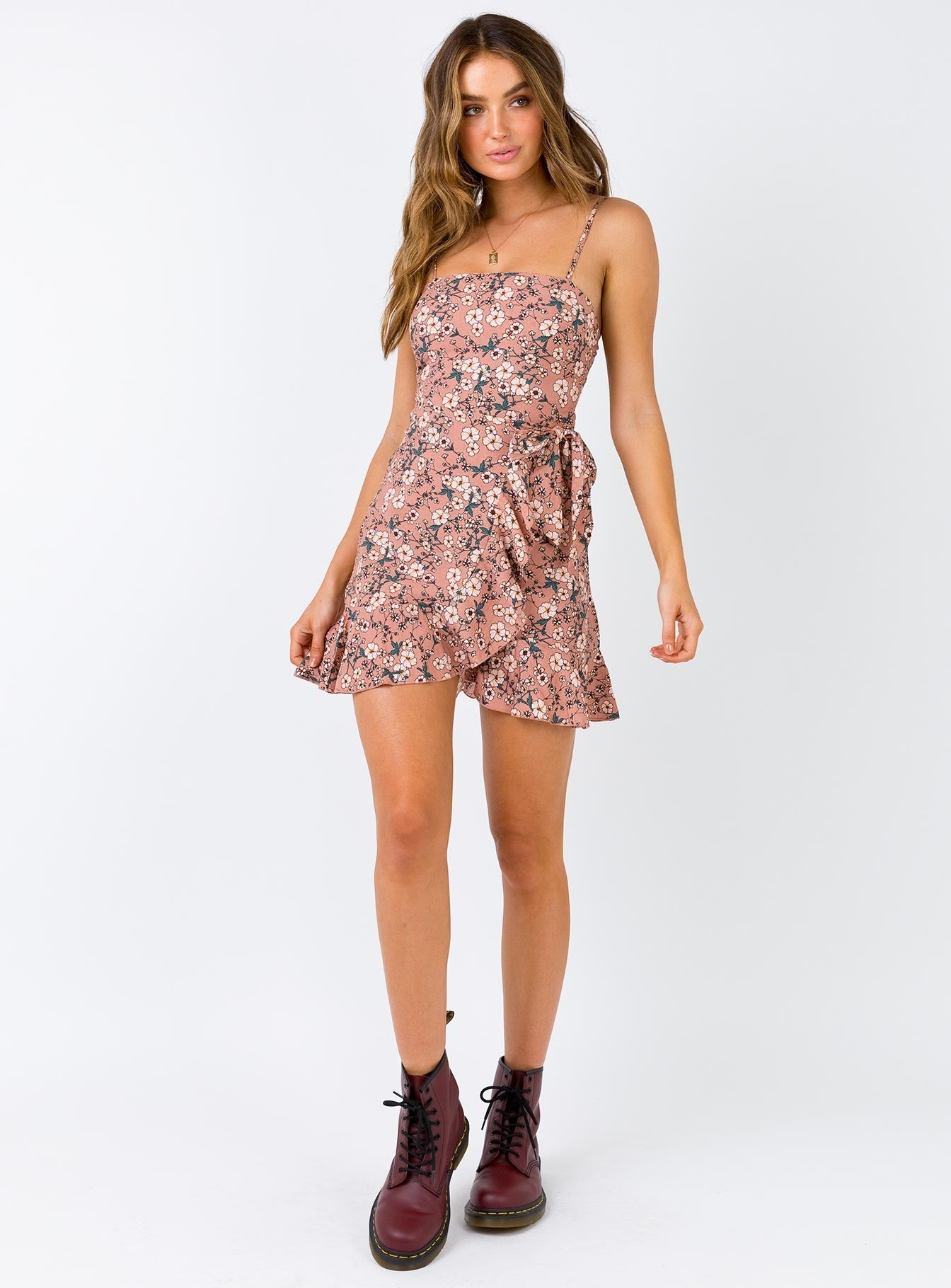 Edison Mini Dress Dusty Pink