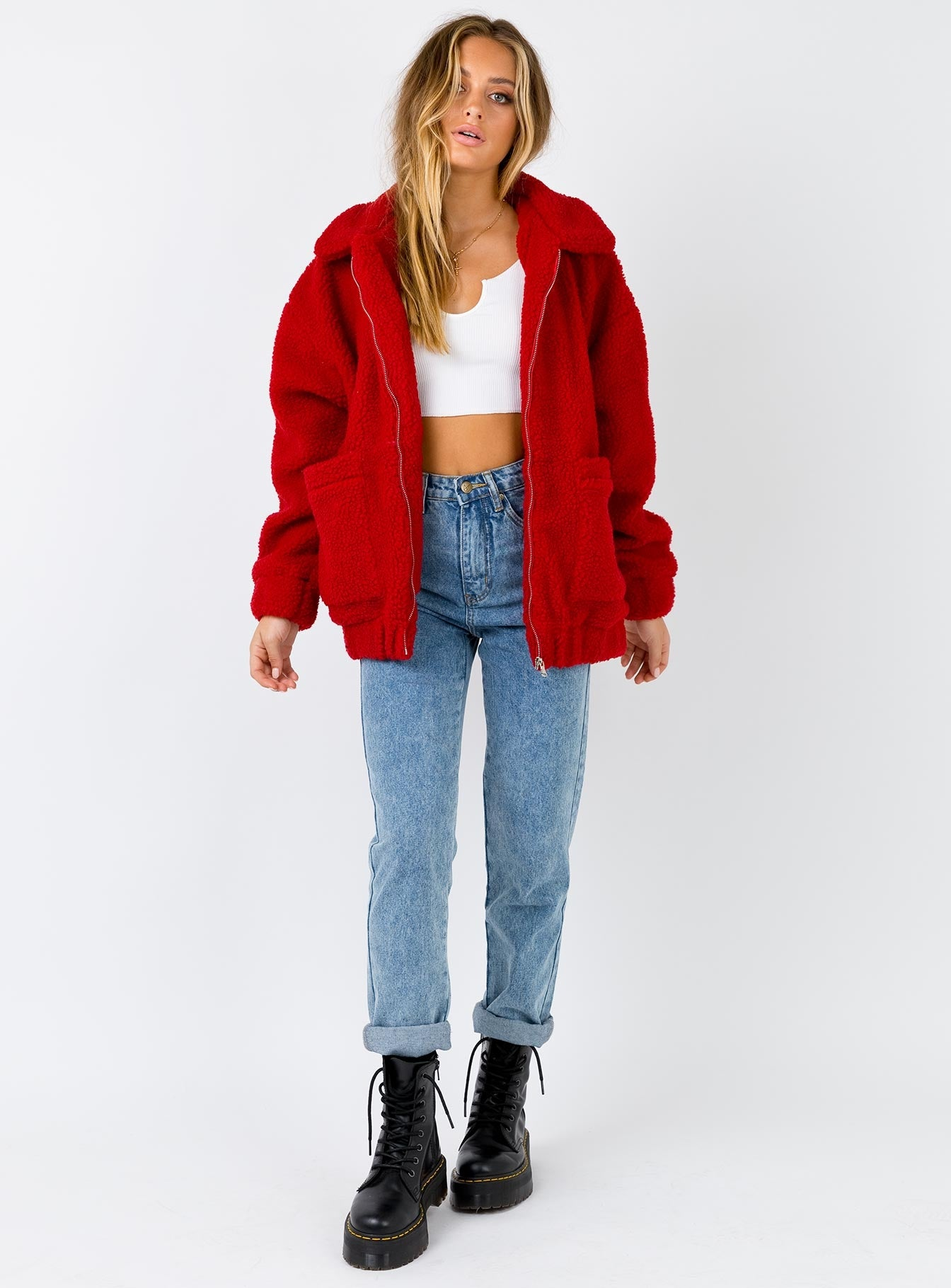 I.AM.GIA Pixie Jacket Red