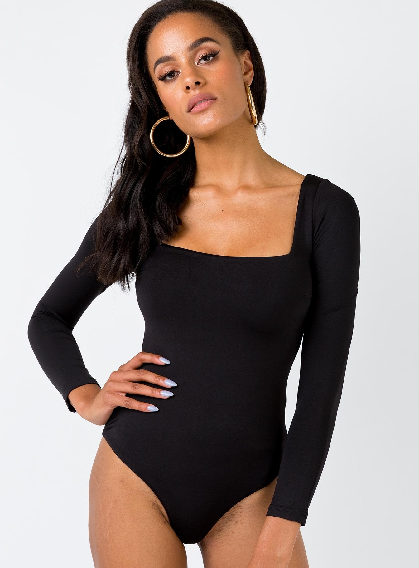 The Rumi Bodysuit Black