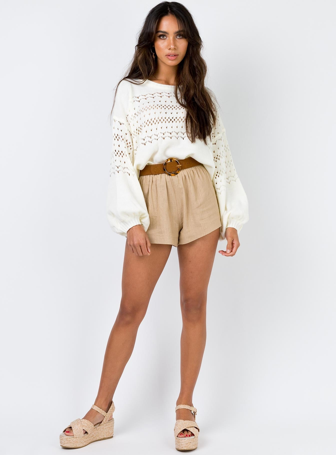 Ewen Knit Jumper Cream