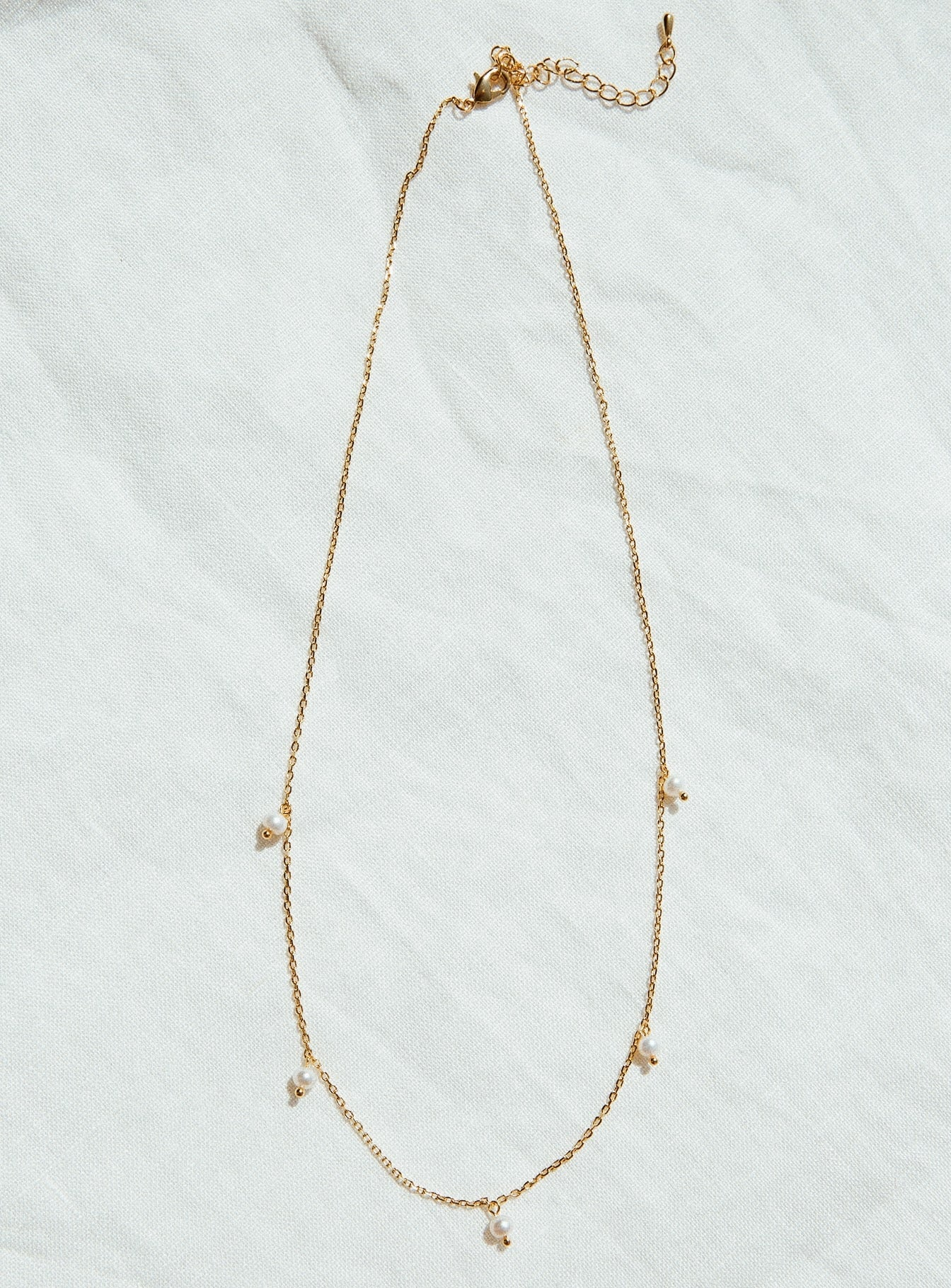 Jolie & Deen Aelita Necklace Gold