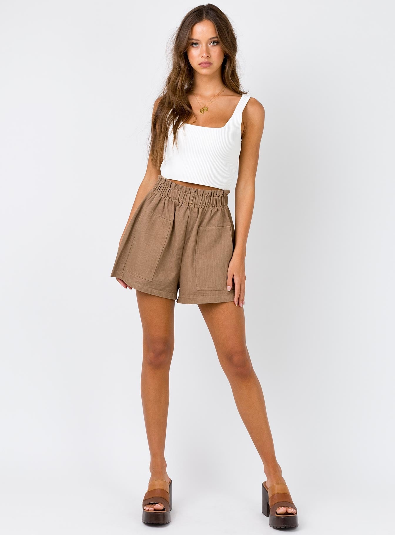 Orchid Bay Shorts Brown