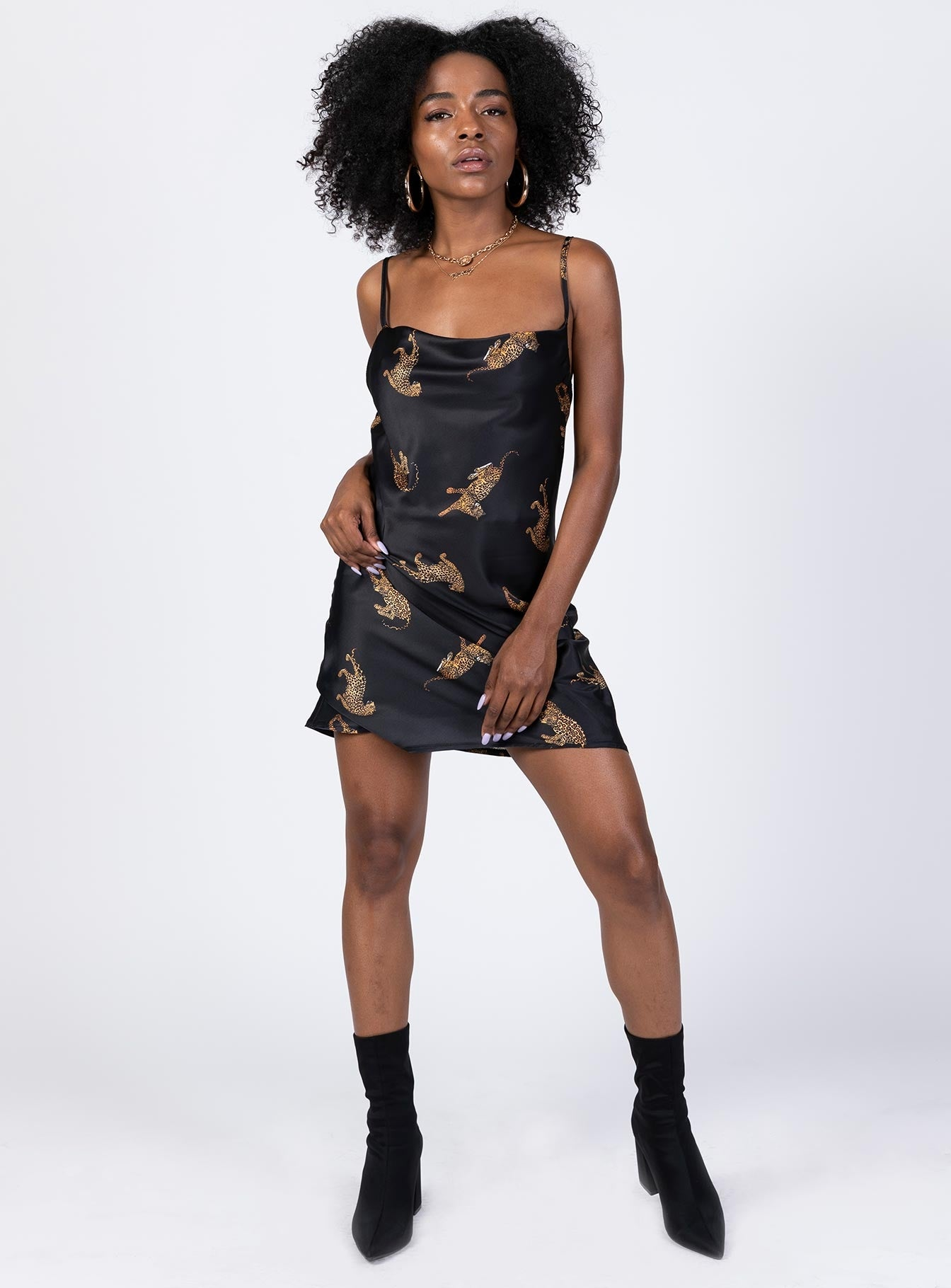 Wild Fire Mini Dress