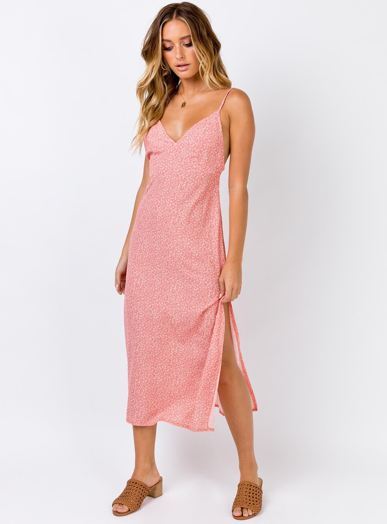 The Clement Maxi Dress Pink