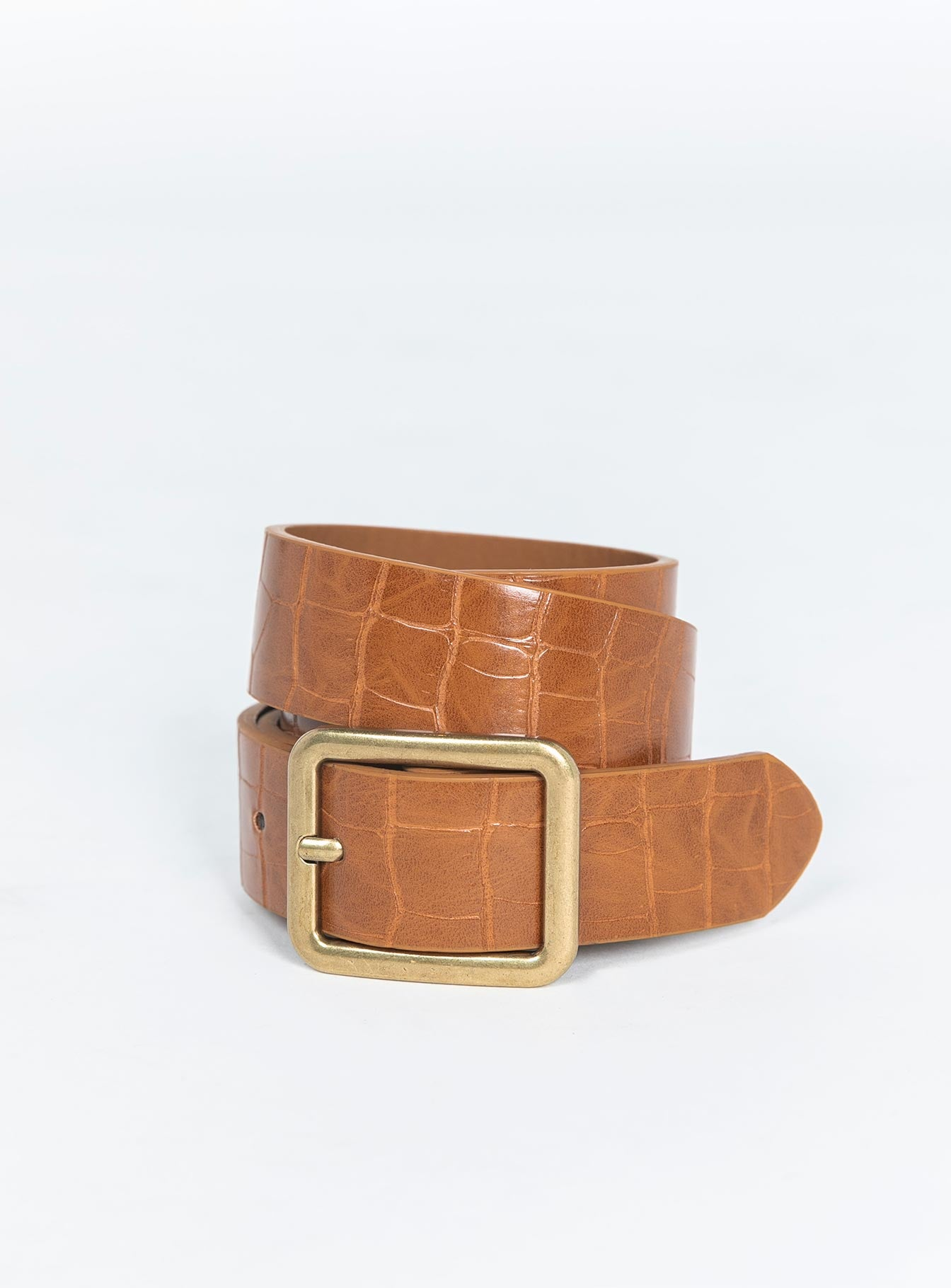 Reptile Rodeo Belt Tan