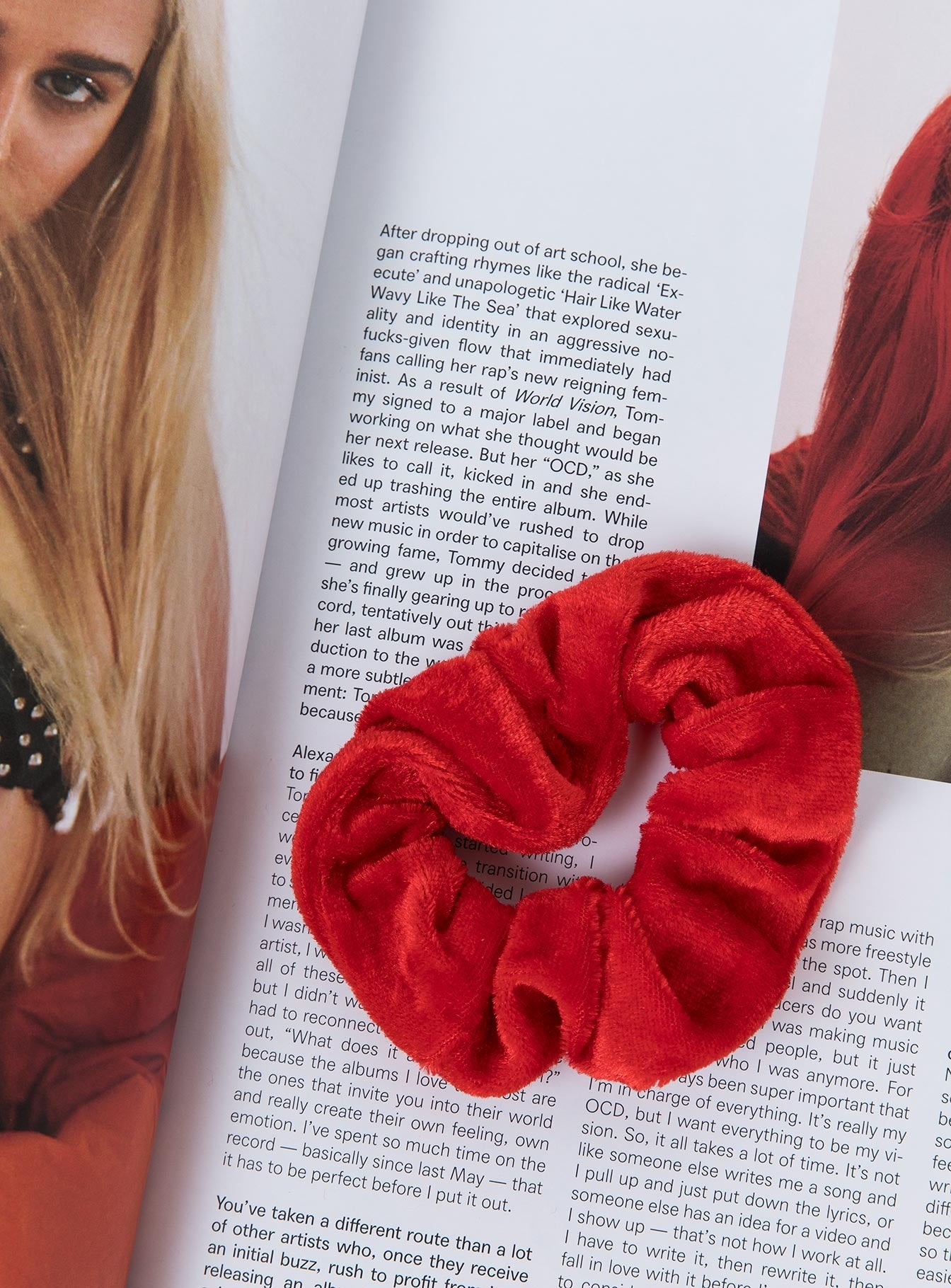 Red Velvet Scrunchie