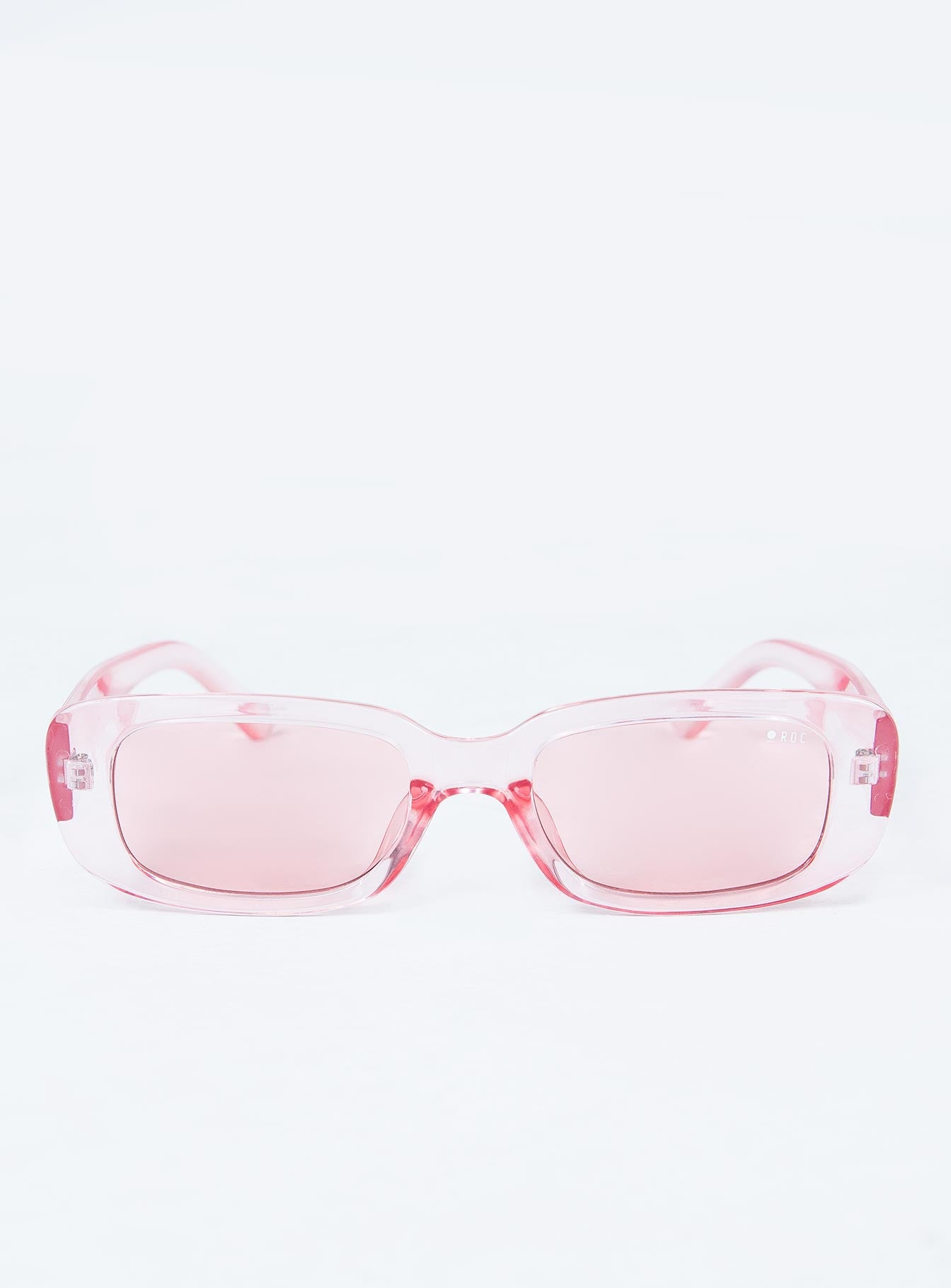 Creeper Sunglasses Clear Pink