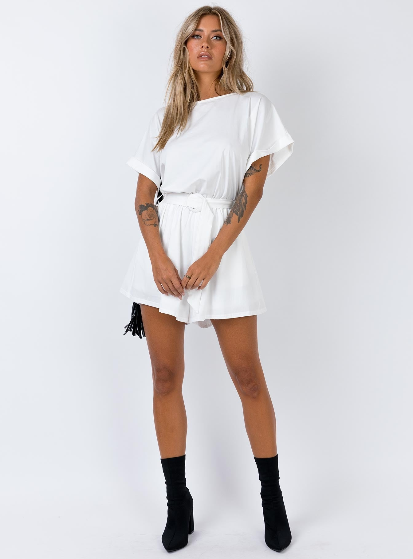 Dookie Playsuit White